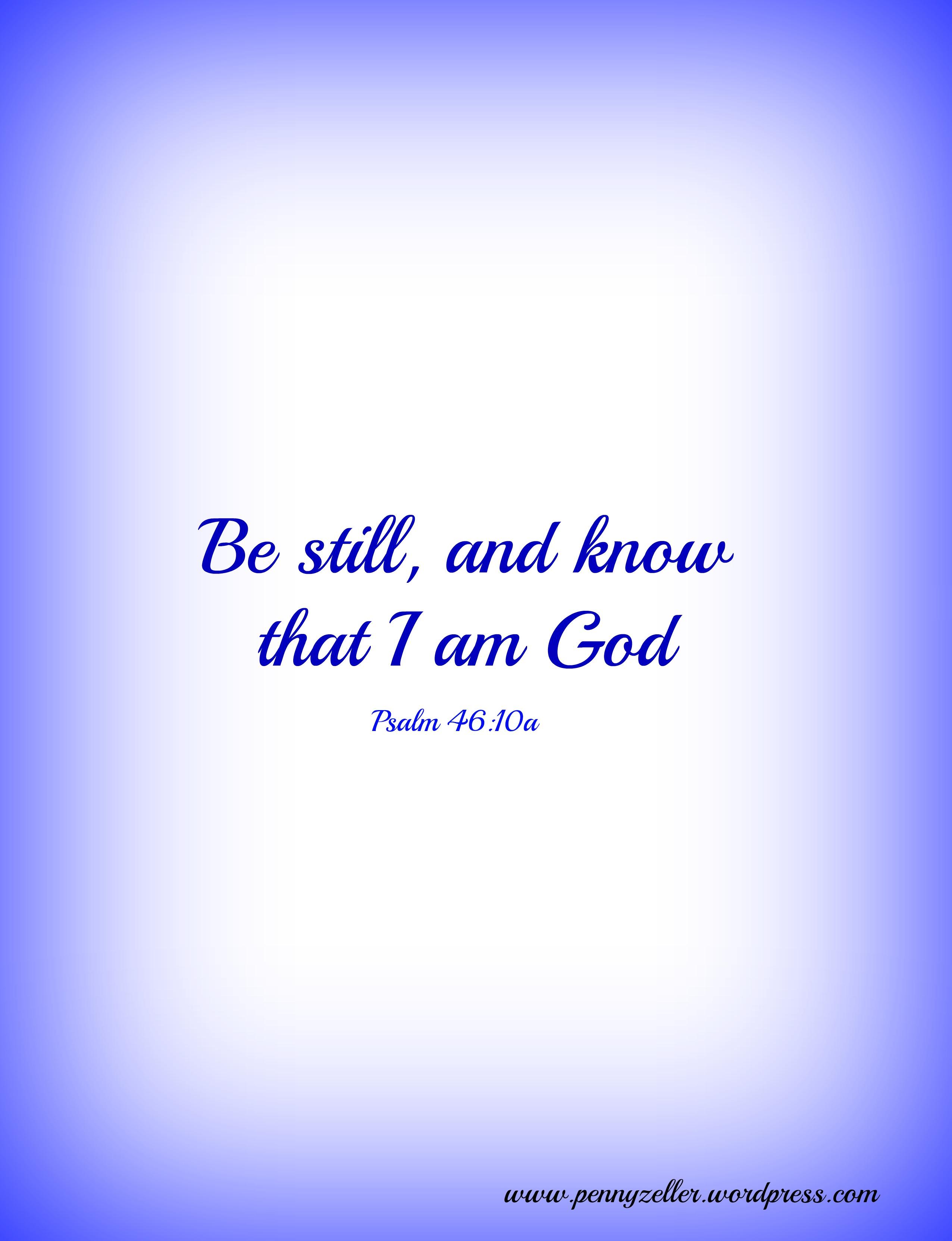 psalm verses penny zeller
