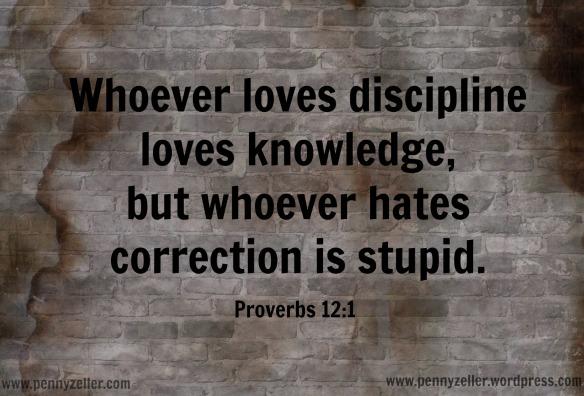 Proverbs 12 1