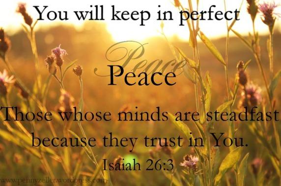 2 Isaiah 26 3