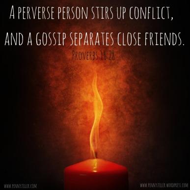 Proverbs 16 28