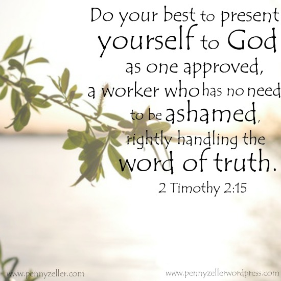 2 Timothy 2 15