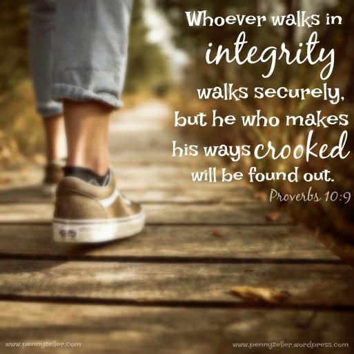 Proverbs 10 9