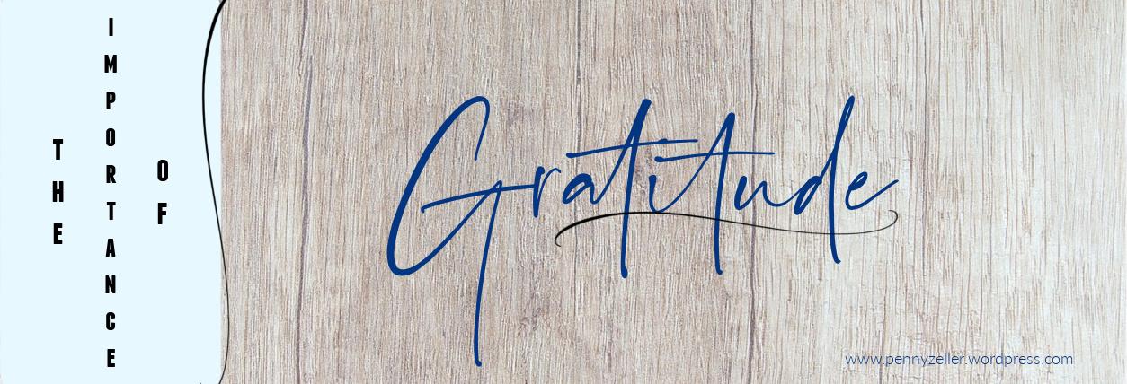 importance of gratitude