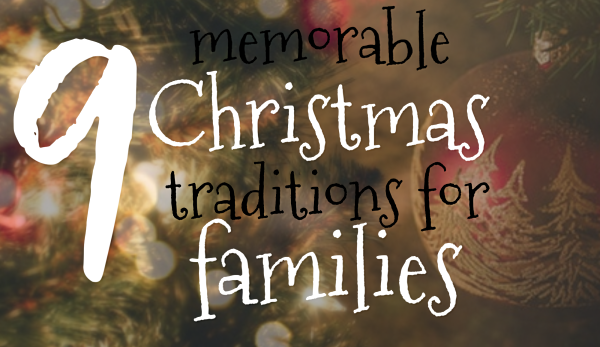 9 christmas traditions
