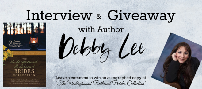 Giveaway with Debby Lee