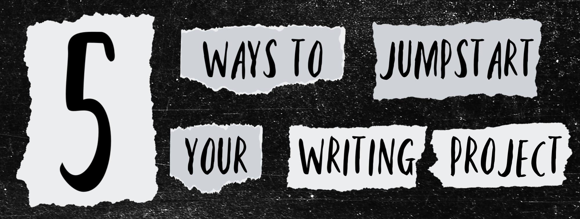 5 ways to jumpstart