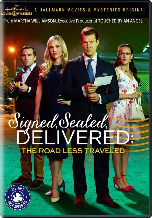 signed sealed delivered road less traveled