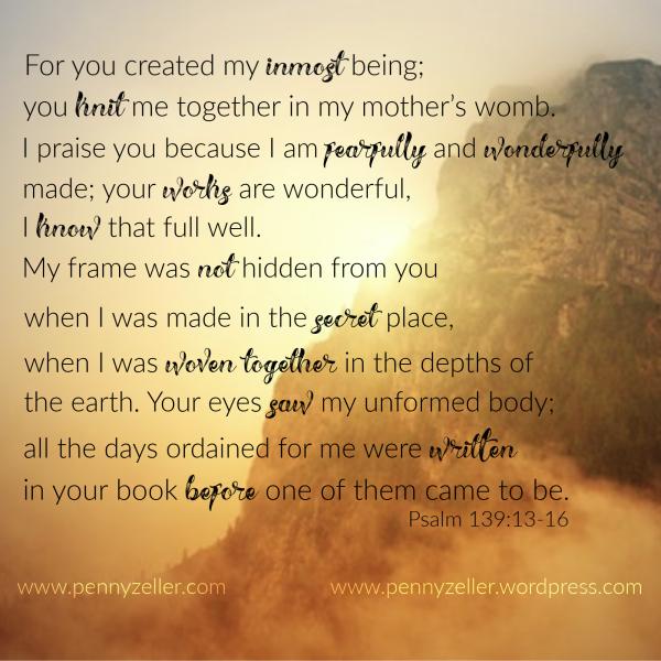 Psalm 139 13-16