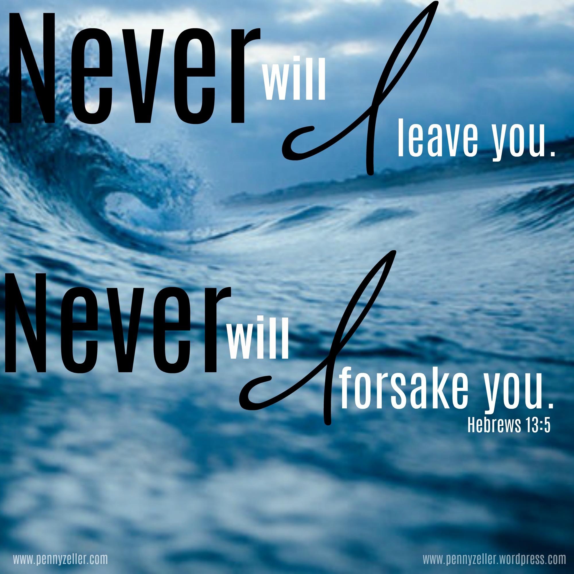 Hebrews 13 5