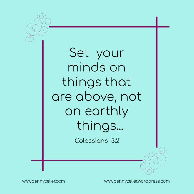 Colossians 3 2