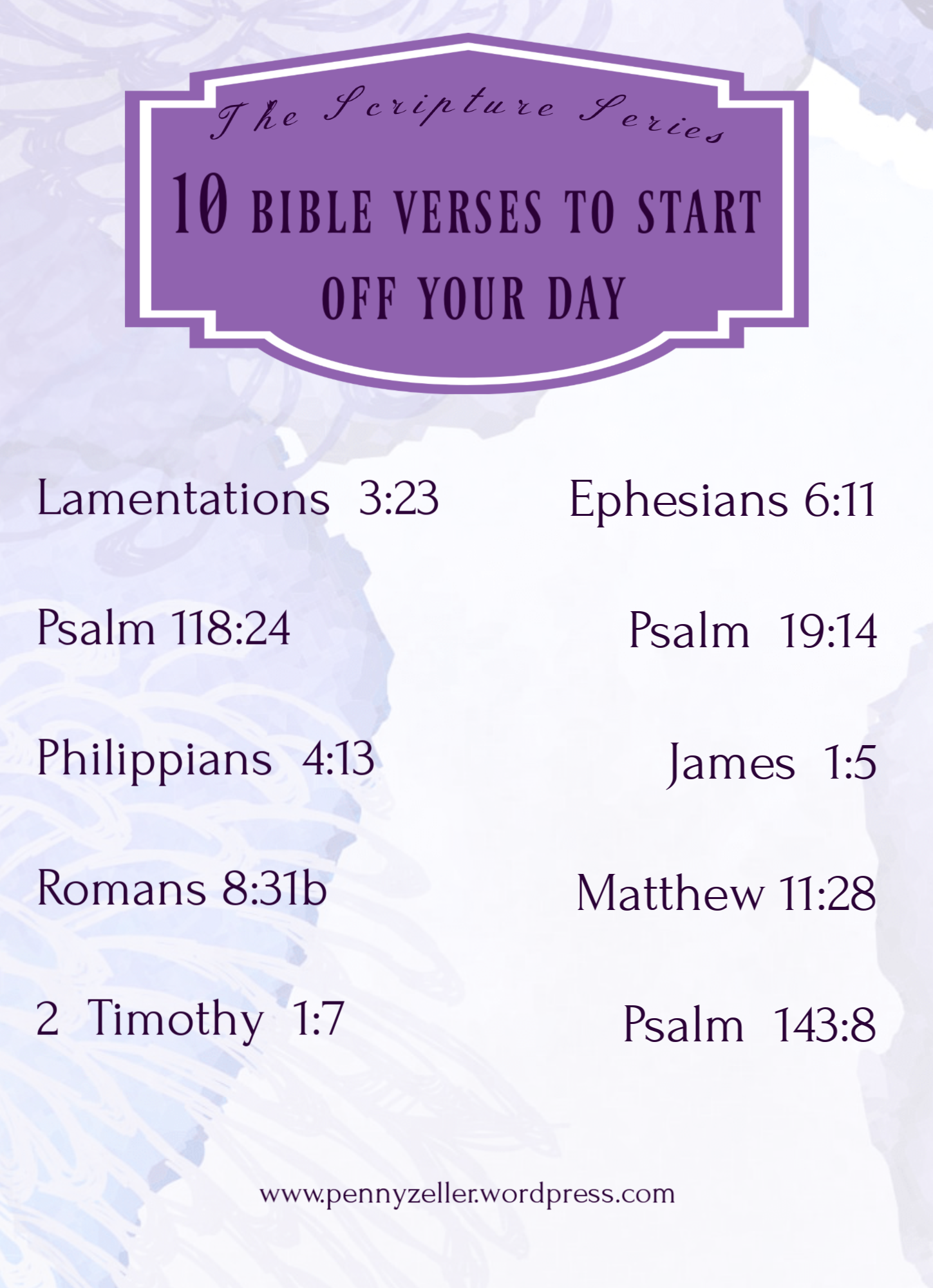 10 morning verses summary