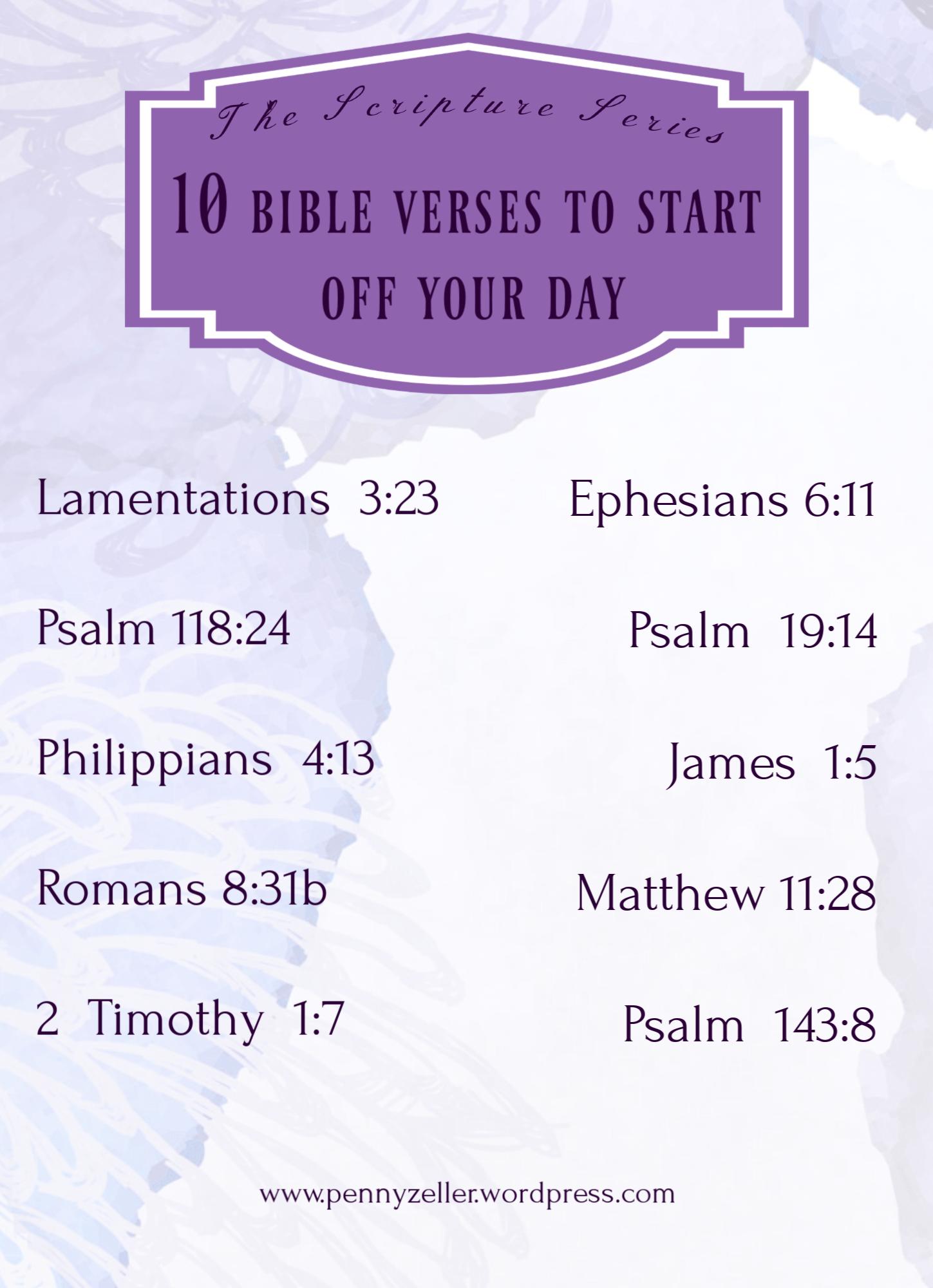 10 morning verses summary