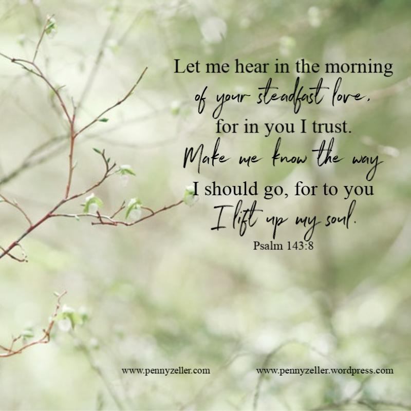 Psalm 143 8