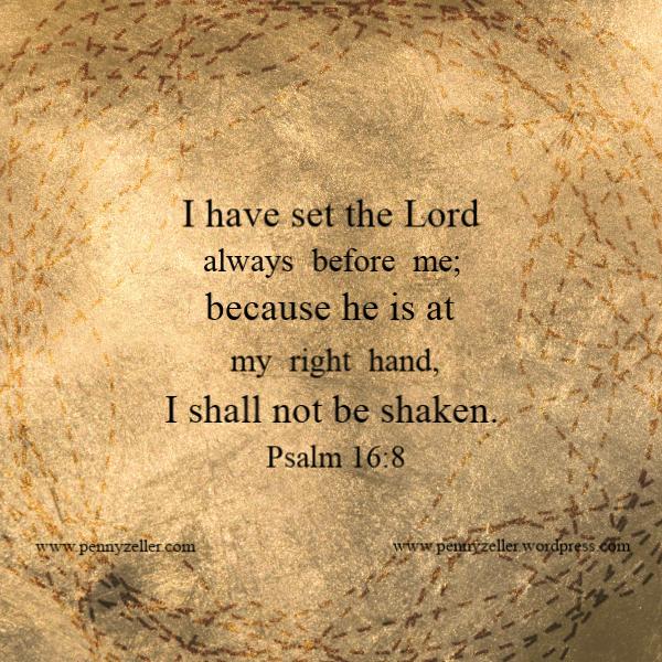 Psalm 16 8
