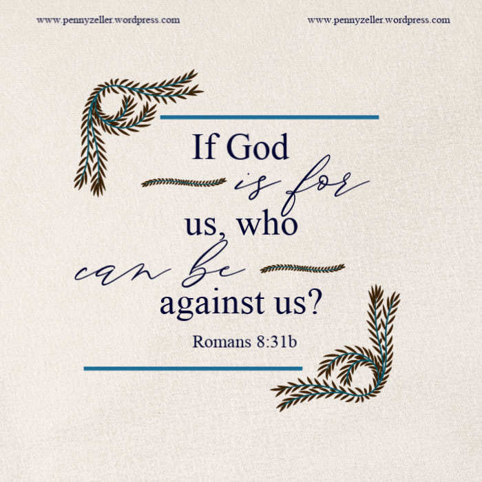 Romans 8 31b