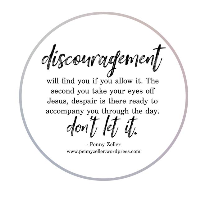 discouragement - mom