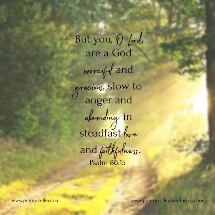 Psalm 86 15