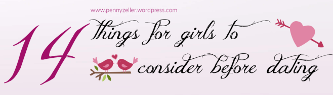14 things for girls to consider